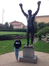 2015-06-28 Visiting Rocky Balboa in Philly
