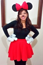 2015-02-06 Played Minnie Mouse at the New Year's Party